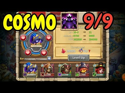 Cosmo L 9/9 Wicked Armor In Action L Castle Clash
