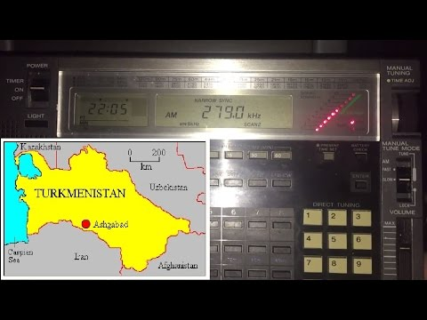 Longwave DX: TR1 Watan Radio 279 kHz,  Turkmenistan, first r