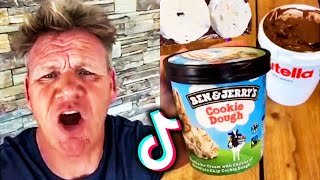 Gordon Ramsay Reacts To Tiktok Cooking Videos | Most Liked Tiktoks Edition