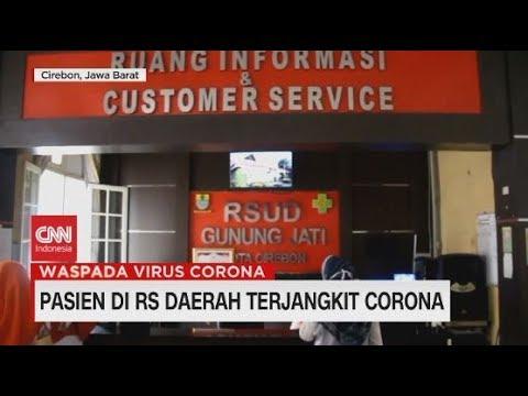 Pasien di RS Manado dan Cirebon Terjangkit Corona