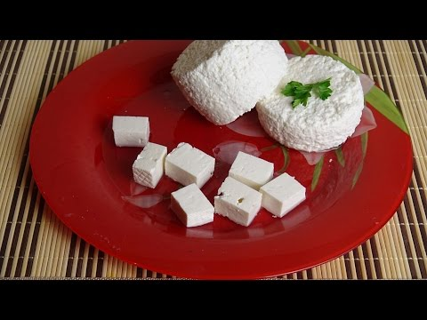 Рецепт Как сделать домашний сыр из