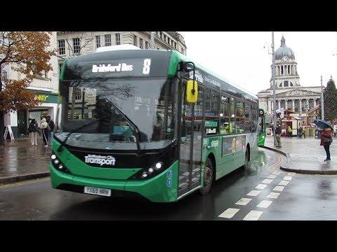 Brand New ADL Enviro200 MMC's For Nottingham City Transport