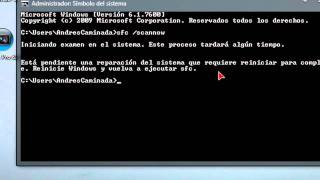 Windows 7 : Reparar Archivos de Sistema en Windows 7