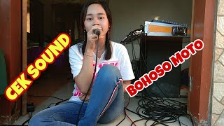 Single Terbaru -  Bohoso Moto Cek Sound