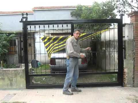 Gemaa herrer a moderna port n dise o exclusivo youtube for Puerta herreria moderna