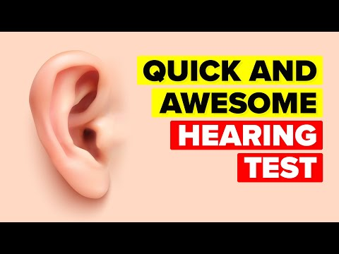 How Good Is Your Hearing? Quick And Easy Test