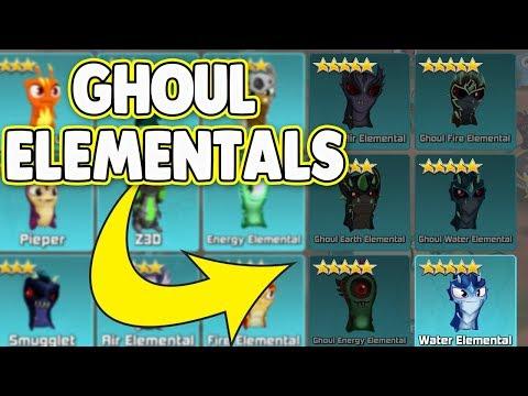 GHOUL ELEMENTALS ! NEW UPDATE ! Slugterra / Bajoterra Slug it Out 2 !   NEW BALL AND POWERFUL SLUGS