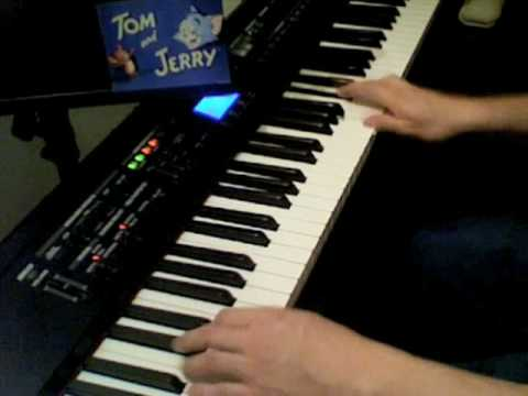 Tom and Jerry Theme on Piano