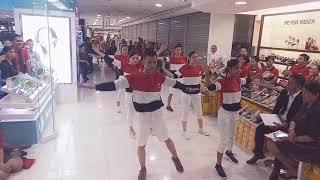 Gambar cover Flash Mob Meraih bintang - youth girl team MDS 261 plaza medan fair  ( via vallen )