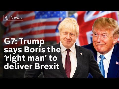 Brexit: Trump says