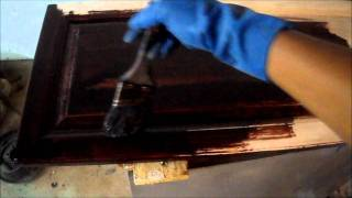 Do It Yourself - Kitchen Remodel Vii - Staining Cabinets & Doors