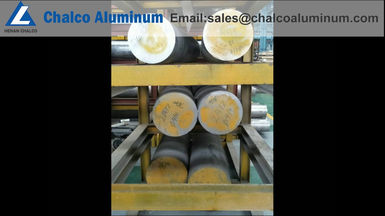 2A12 7075 6061 6082 6063 aluminum round bar stock