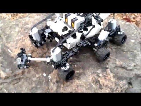 Technical Lego Remote Control Mars Rover Curiosity