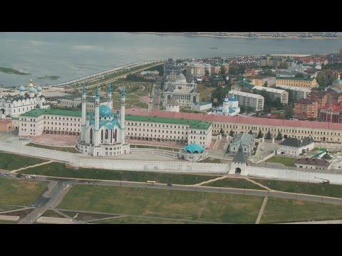 Экскурсия над Казанью на полицейском вертолёте Ка-226