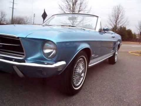 1967 Ford Mustang Convertible Brittany Blue Walk Around