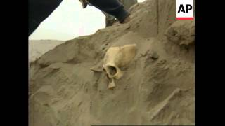 PERU: ARCHAEOLOGISTS UNEARTH 50 MUMMIES IN INCAN CEMETERY