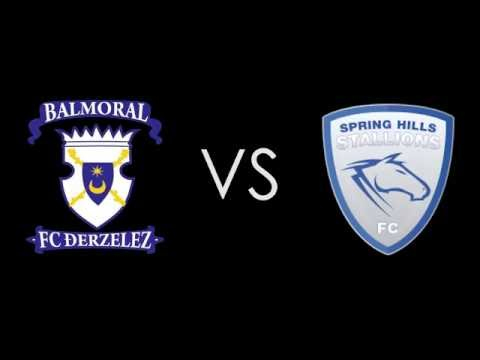 Balmoral FC vs Spring Hills FC - Round 15 - Match Highlights