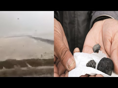 Rain of stones in Turkey, an apocalyptic sign? 2017