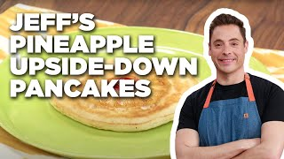 Jeff Mauro Makes Pineapple Upside-Down Pancakes | Food Network