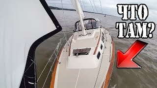 Яхта внезапно остановилась. Что-то держит... Путешествие на яхте по США. Делавэр → Балтимор [2]. ✅