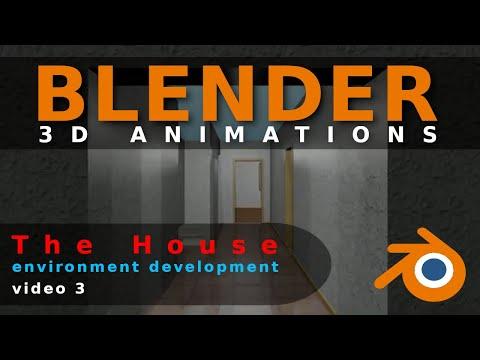 Blender Animation The House Video 3