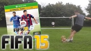 One of RossiHD's most viewed videos: CROSSBAR CHALLENGE FOR FIFA 15 PRIZE!