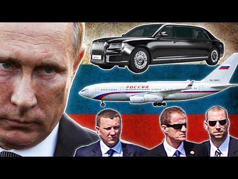 5 Sistemas y Medidas de Seguridad para Proteger a Vladimir Putin 🇷🇺