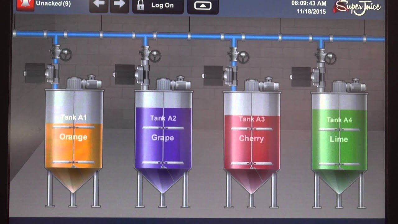 Intuitive Panelview 5500 Hmi Features Enhanced Logix