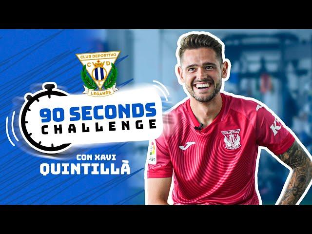⏱😂 Xavi Quintillà se atreve con el #90SecondsChallenge