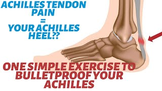 How to Fix Achilles Tendonitis in 3-5 Minutes (2 Options).