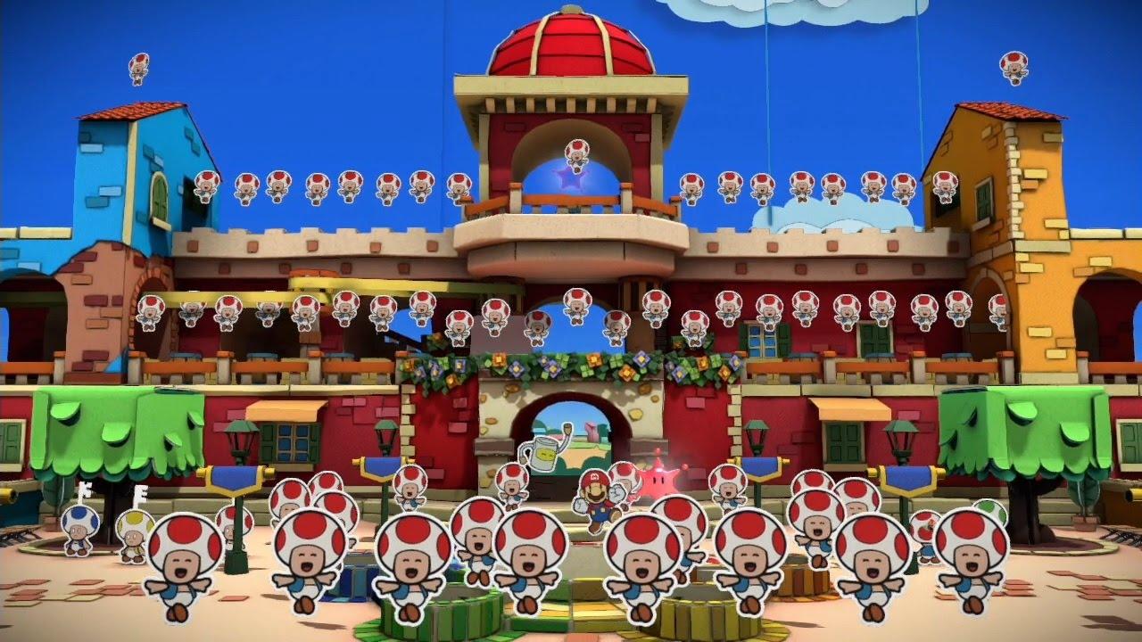 【プレイ動画】Wii U ペーパーマリオ カラースプラッシュ Part43 お祝いダンス まとめ