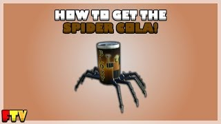 [ROBLOX PROMOCODE] HOW TO GET THE SPIDER COLA!