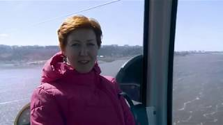 Нижний Новгород Волга канатная дорога