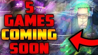 [NEW] You MUST Play These 5 ROBLOX Games | 5 Games that will SAVE Roblox | Coming Soon