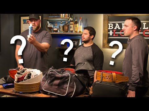 Coop, Matt and Will REVEAL their Gym Bag Essentials