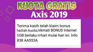 Kuota Gratiss 2019 Kartu Axis !!!buruan Klaim Bonus Nya