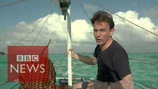 Chinese poachers destroying coral reefs - BBC News