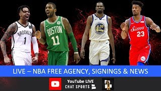 NBA Free Agency: Jimmy Butler Traded To Heat, Al Horford To 76ers, Kevin Durant To Nets & News