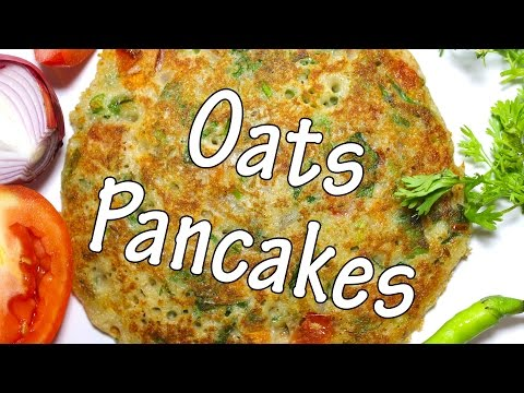 Oats Pancakes | Healthy & Easy To Make Recipe For Kids | Oats Recipes For Breakfast