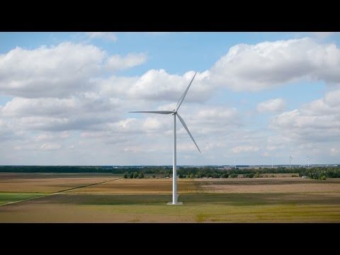 Amazon Wind Farm US Central Video