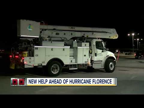 Duke Energy linemen leaving to face Hurricane Florence