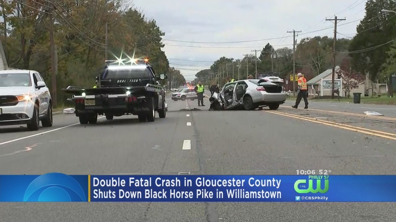 Double Fatal Crash In Gloucester County