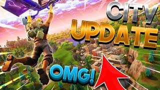*NEW* MAP UPDATE TOMORROW! - Fortnite Battle Royale Patch Notes
