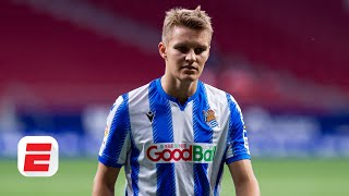 Where does Martin Odegaard fit into Real Madrid's plans under Zinedine Zidane? | ESPN FC