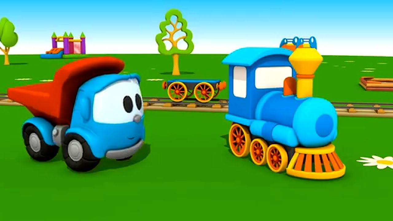 Leo el Pequeño Camión - El Tren - YouTube