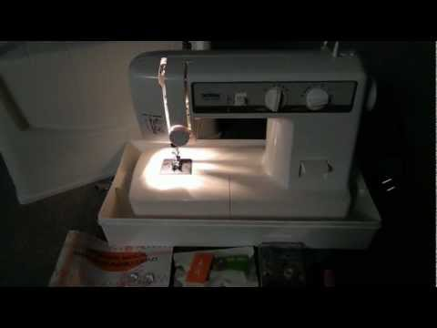 brother vx 1120 sewing machine case youtube. Black Bedroom Furniture Sets. Home Design Ideas