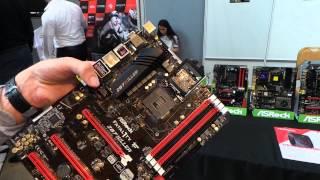 aSRock Fatal1ty Z87 Killer alaplap bemutat vide  Tech2.hu