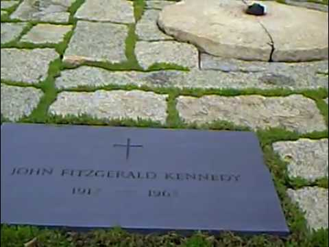 Ewige Flamme Grab John F Kennedy Arlington Friedhof Washington