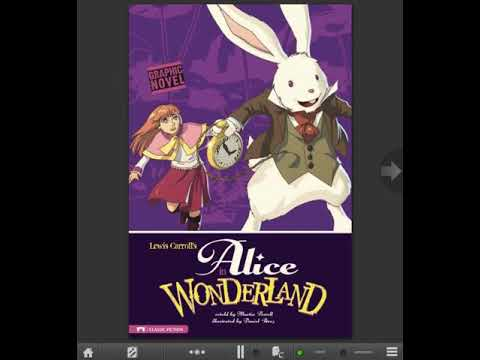 Learn English thru story books:Alice in Wonderland