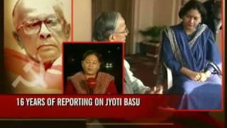 16 years of reporting on Jyoti Basu